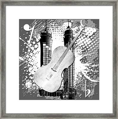 Audio Graphics 1 Framed Print