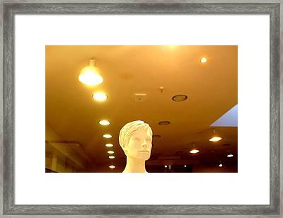 Audrey 2 Framed Print by Jez C Self