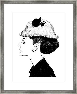 Audrey Framed Print by Greg Joens