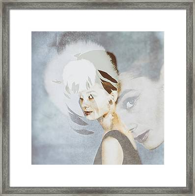 Audrey Hepburn 1960s Framed Print