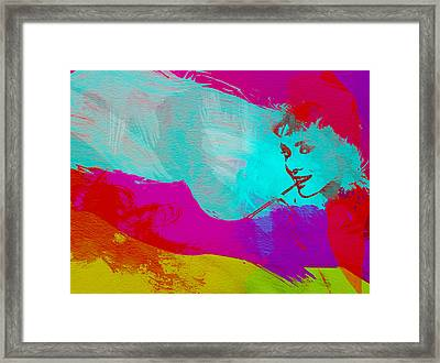 Audrey Hepburn Framed Print by Naxart Studio