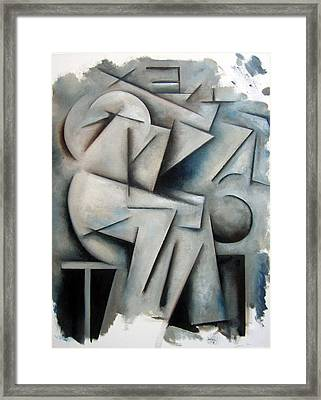 Augmentation - Process Framed Print by Martel Chapman