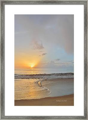 August 10 Nags Head Framed Print