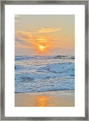 August 28 Sunrise Framed Print