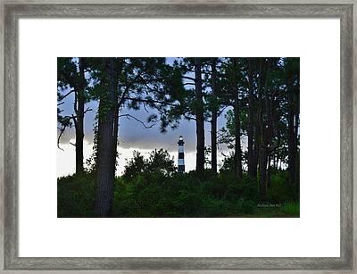 August 9 Bodie Lt House Framed Print