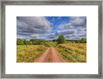 August Countryside 4 Framed Print