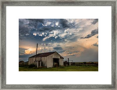 August Eve Framed Print by Sean Ramsey