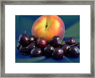 August Fruits Framed Print