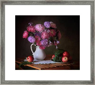 August Gifts Of The Garden Framed Print by ??????? ????????