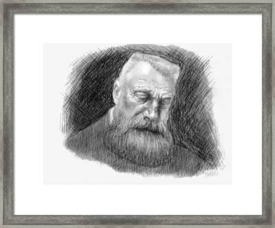 Auguste Rodin Framed Print