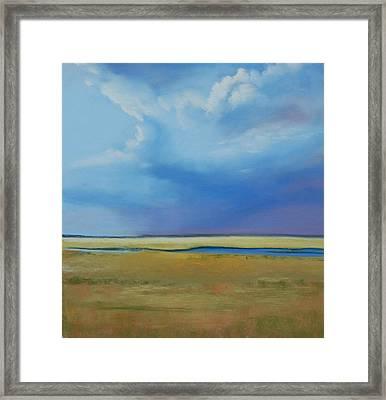August Sky Framed Print by Jeanne Rosier Smith