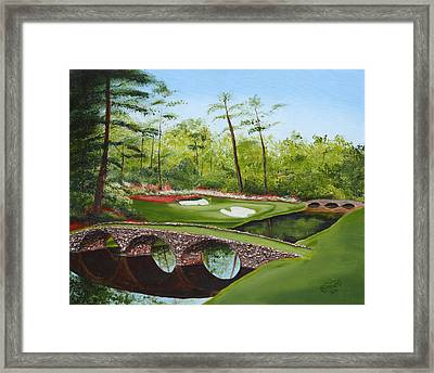Augusta Golf Course Framed Print