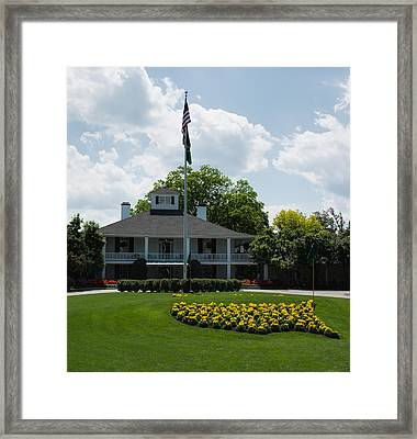 Augusta National  Framed Print by Ed Waldrop