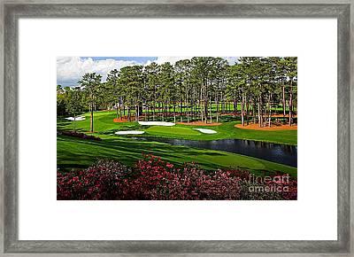 Augusta National Gc #16 Framed Print