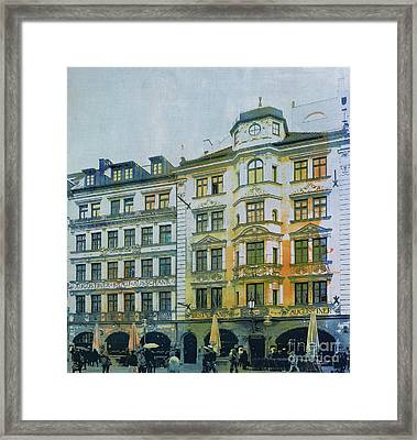 Augustiner Munich Framed Print by Jutta Maria Pusl