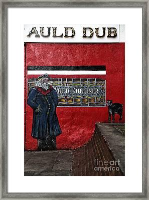 Auld Dub Framed Print by John Rizzuto