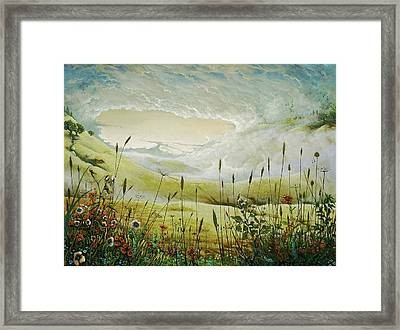 AUM Framed Print by Boris Koodrin