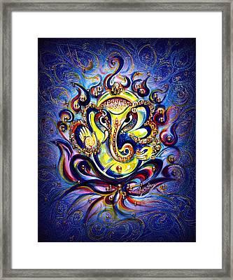 Aum Ganesha - Bliss Framed Print