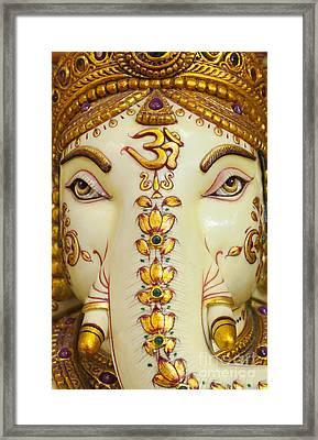 Aum Ganesha Framed Print by Tim Gainey