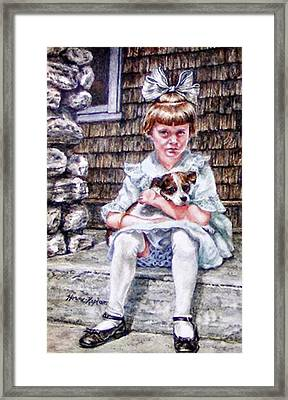 Aunt Eve 1919, Finders Keepers Framed Print