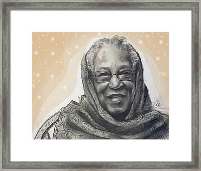 Aunt Irene Framed Print