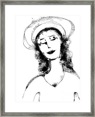 Auntie Mame Framed Print