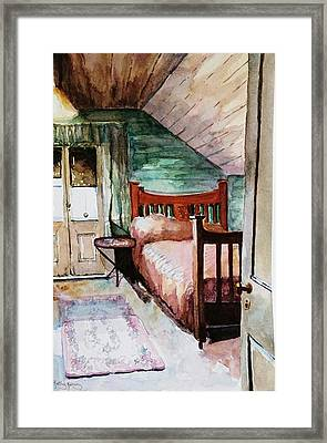 Aunty Dot's Room Framed Print