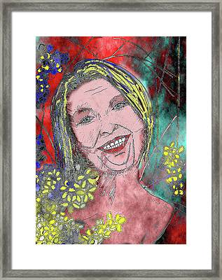 Aunty Framed Print