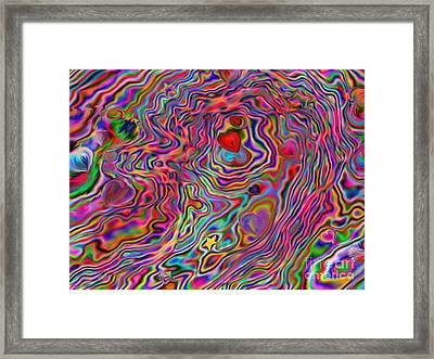 Aura Lights Framed Print by Roxy Riou
