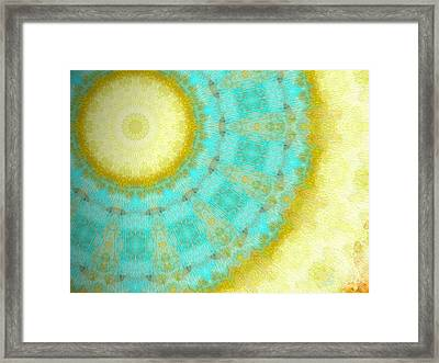 Aura Of Calm Framed Print by Glorielis Martins