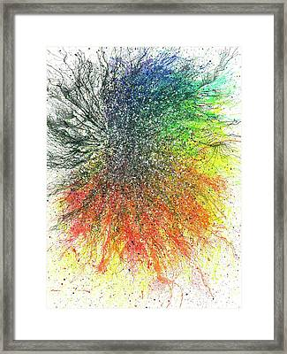 Aura Of The Starseeds #696 Framed Print