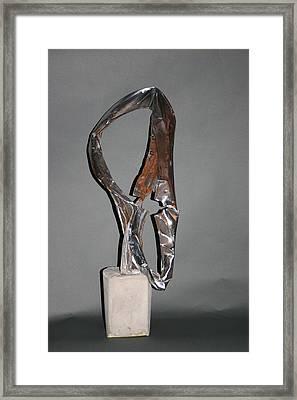 Auroa Borealis Framed Print by Richard Heffron