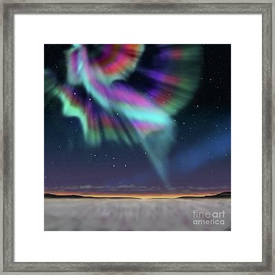 Aurora At Dawn Framed Print