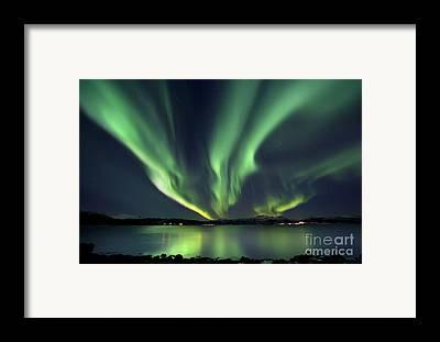 Green Framed Prints
