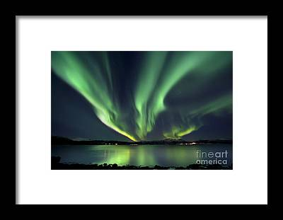 Green Framed Prints