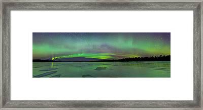 Aurora Bridge Framed Print