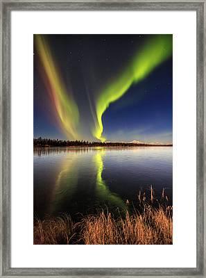 Aurora Glide Framed Print