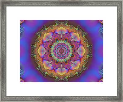 Aurora Graphic 026 Framed Print