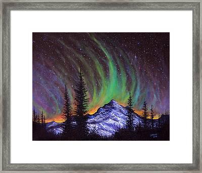 Aurora  Magic Framed Print by C Steele