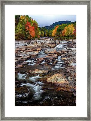 Framed Print featuring the photograph Ausable by Mark Papke