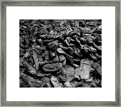 Auschwitz-birkenau Shoes Framed Print by RicardMN Photography