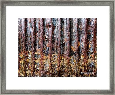 Aussie Galvanised Iron #12 Framed Print