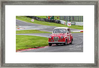 Framed Print featuring the photograph Austin A35  by Adrian Evans
