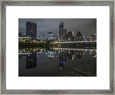 Austin As Gotham Framed Print