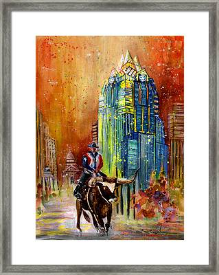 Austin Authentic 01 Framed Print