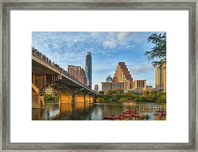 Austin Bat Watch Framed Print