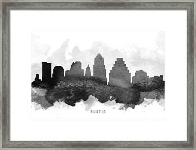 Austin Cityscape 11 Framed Print