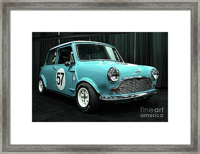 Austin Cooper Framed Print by Wingsdomain Art and Photography