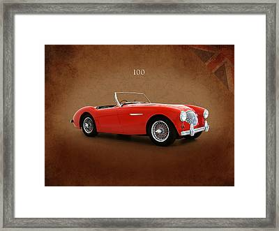 Austin Healey 100 1955 Framed Print