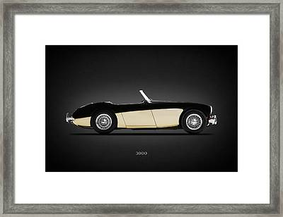 Austin Healey 3000 Framed Print